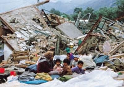 تصویری از زلزله طارم